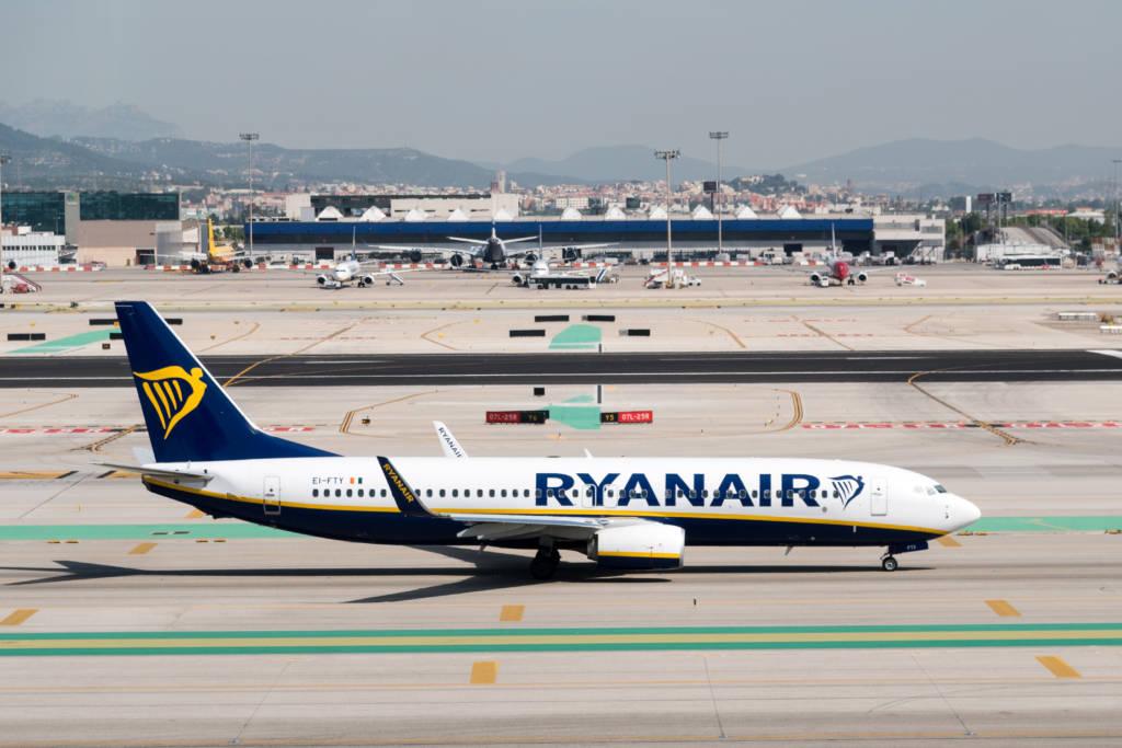 Ryanair: passeggeri calati del78%