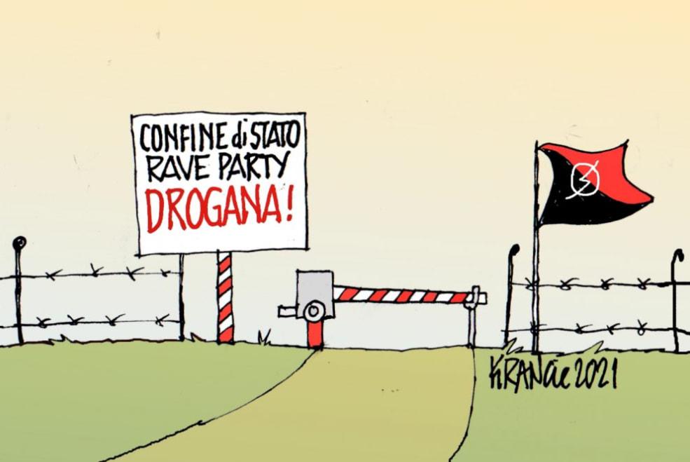 L'Afghanistan Pronto a diventare il Narco-Stato più grande del mondo – La Vignetta di AlfioKrancic