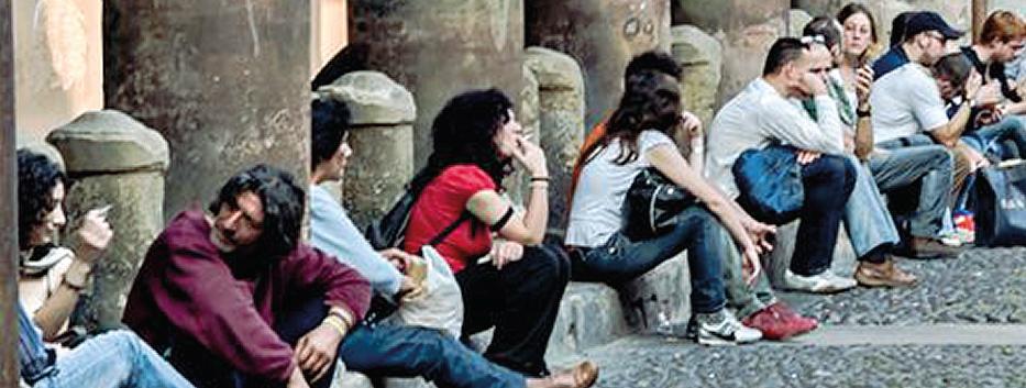 Lavoro, Italia: il 50% di quelli che possono lavorare non lofanno