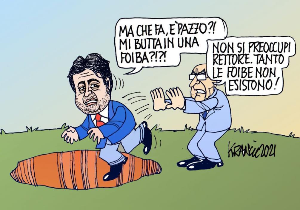 Negazionismo delle foibe – La vignetta di AlfioKrancic
