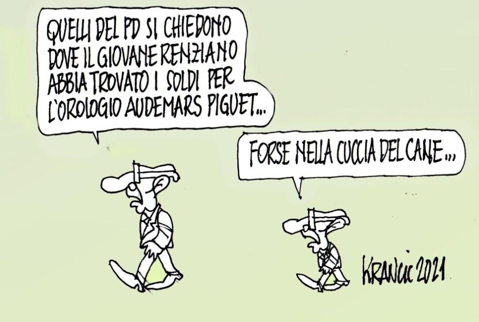 La Vignetta di AlfioKrancic.