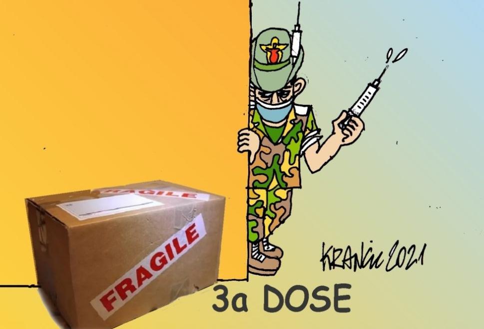 Terza dose: caccia ai fragili – La Vignetta di AlfioKrancic